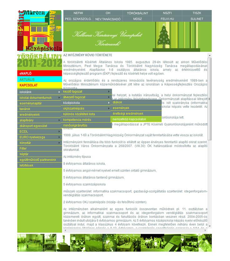 iskolanak honlap